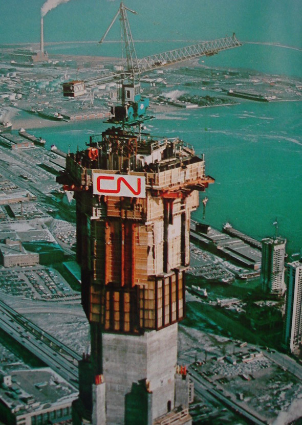 CN Tower 70s